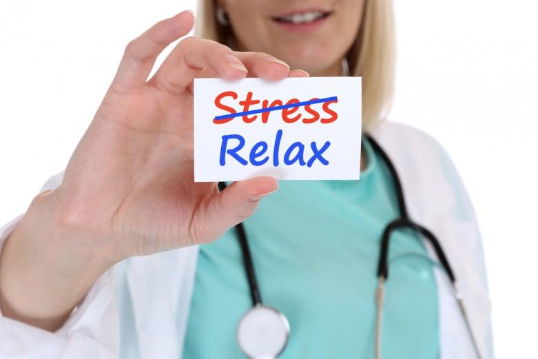 eczema stress relief