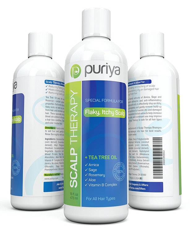 Puriya Natural Dandruff Shampoo