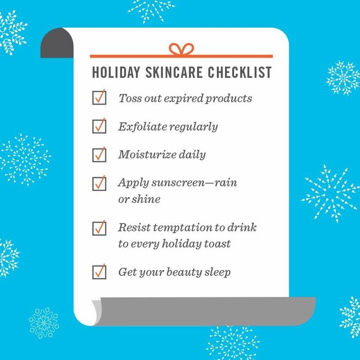 Checklist for Eczema holiday packing
