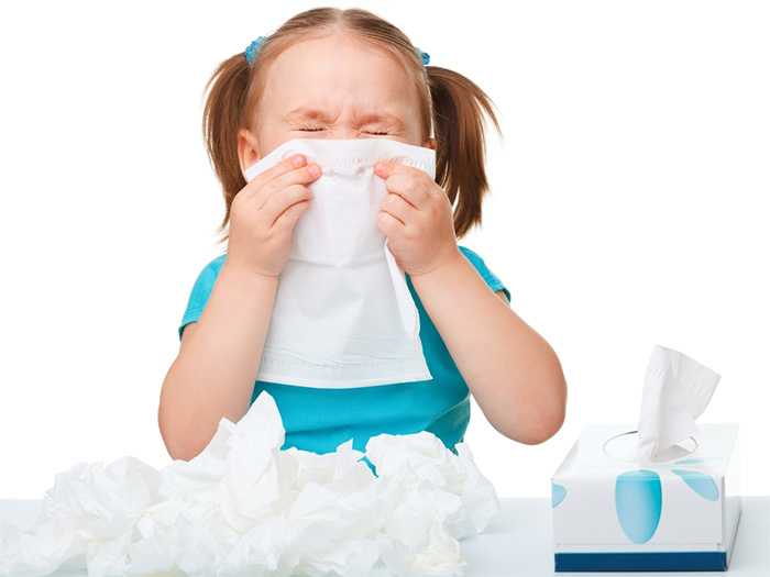 Allergy risks in U.S children