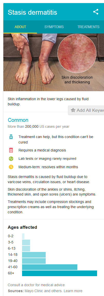 What is Stasis Dermatitis