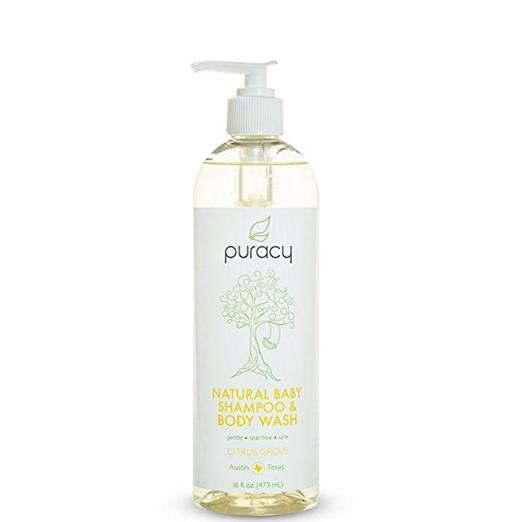 Puracy Natural Baby Shampoo & Body Wash