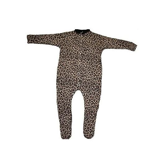British Made Leopard Print Sleepsuit