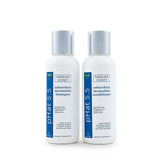 Seborrheic Dermatitis Shampoo and Conditioner Set