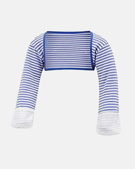 Stay-On Scratch Mitts Stripes