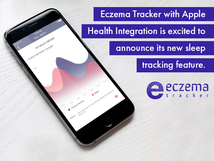 Eczema Tracker Launches New Sleep Tracking Feature with Apple Health Integration