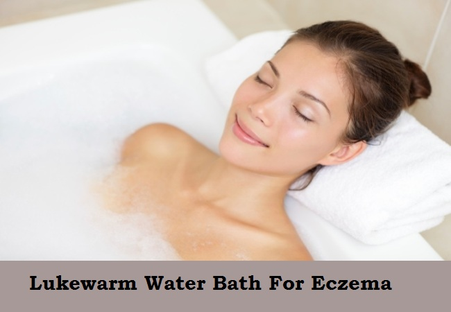 Lukewarm Bath For eczema