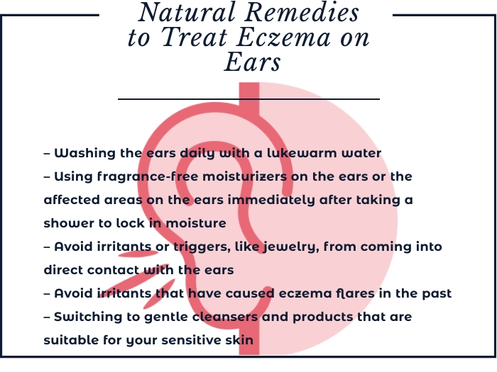 Ear eczema home remedies
