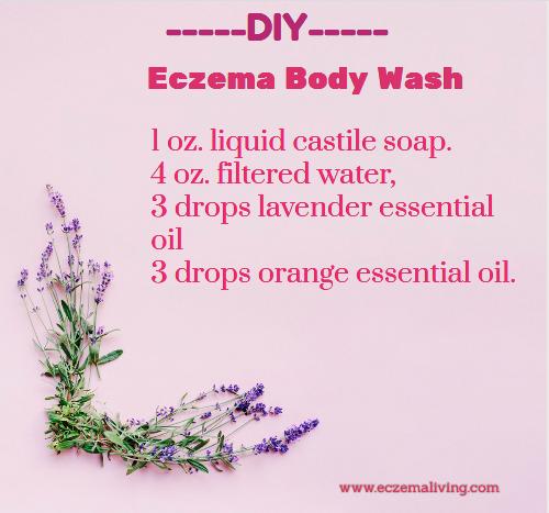 DIY Eczema Body Wash