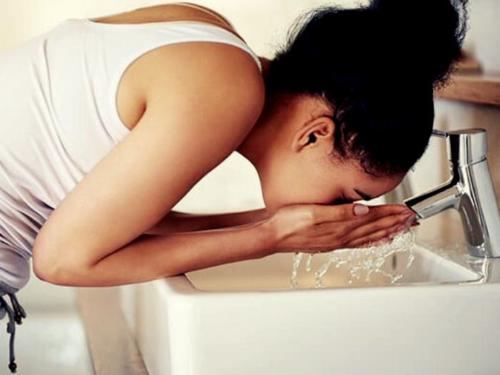 Wash Your skin immediately after working out