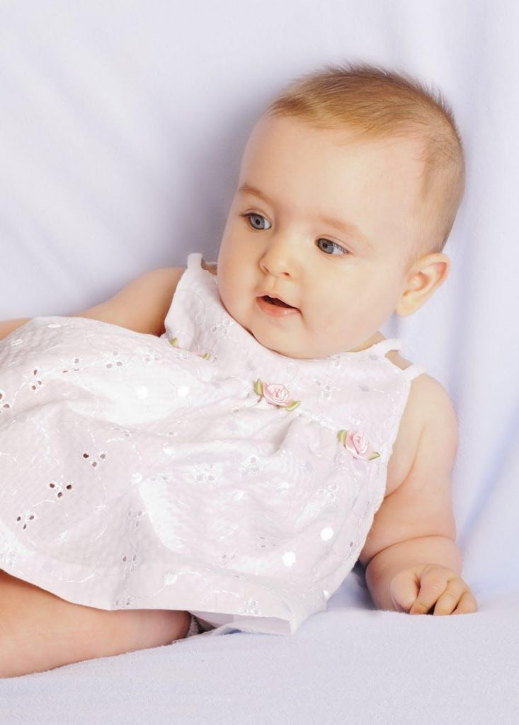 Dressing to prevent baby eczema flare-ups